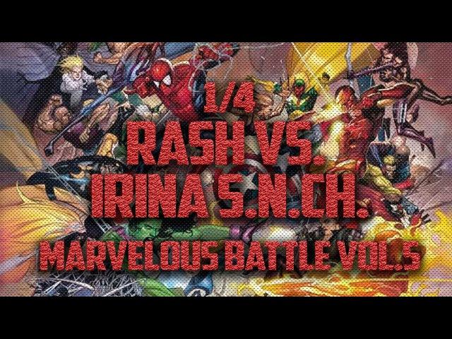 Rash vs. Irina S.N.CH - Marvelous Battle V 14