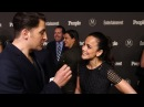 Alice Braga at the EW and People Upfront with Arthur Kade