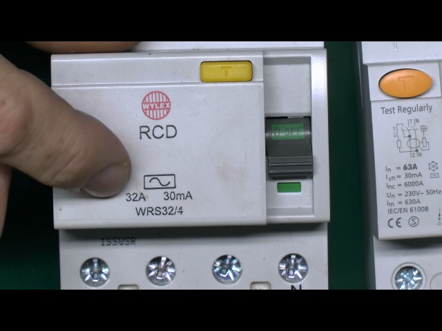 Residual Current Devices (RCD) - How they work