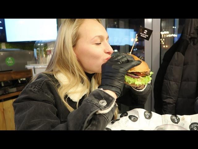 Бесплатный Бургер от Тимати. Провожаем на Олимпиаду. Black Star Burger