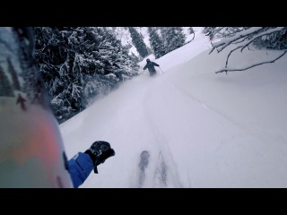 Фрирайд в Акбулаке / Akbulak Freeride - 50cm of powder