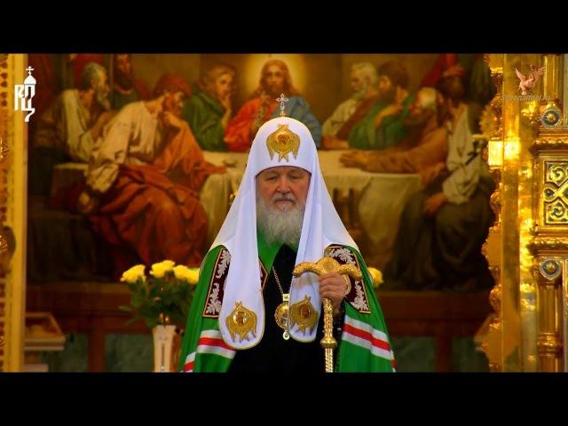 Патриарх о симптомах конца света.. (видео)