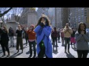 The OA Flashmob Five Movements in front of Trump International Hotel NYC