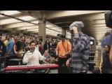 Linkin Park l Chester Bennington l Спонтанный Концерт Прямо в Метро