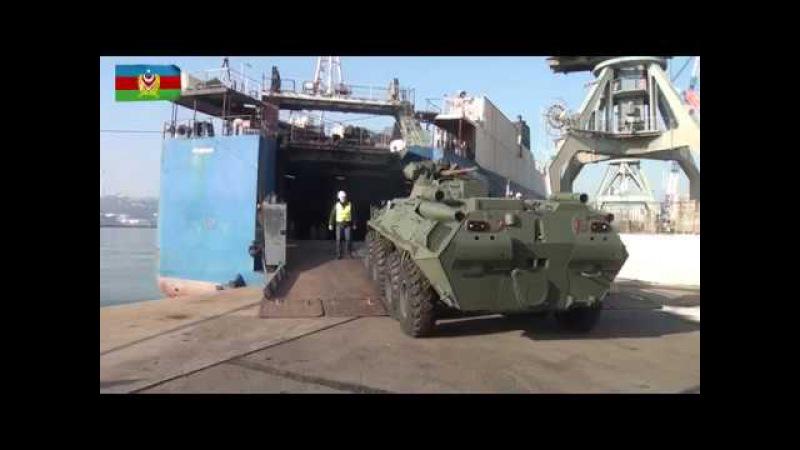 Rusiyadan alınan hərbi texnikalar ölkəyə gətirilib