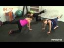 Тренировка Хайди Клум для беременных от Андреа Орбек Фитнес. Heidi Klum Prenatal Workout, Andrea Orbeck Fitness, Class FitSugar