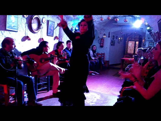 Los Tarantos - Baile Flamenco em Granada 1