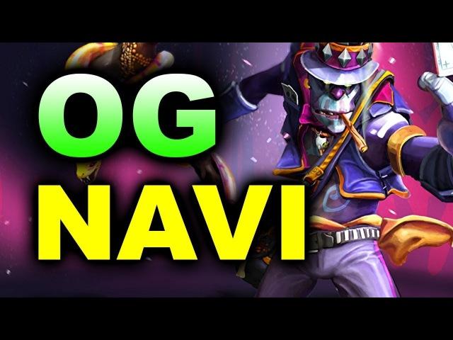 NAVI vs OG - BIG MATCH! - BUCHAREST MAJOR 2018 DOTA 2
