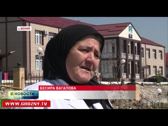 В чеченском Беное продолжается строительство мечети