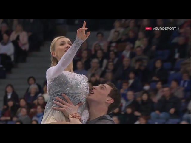 Aliona SAVCHENKO Bruno MASSOT FS 2017 World Championships