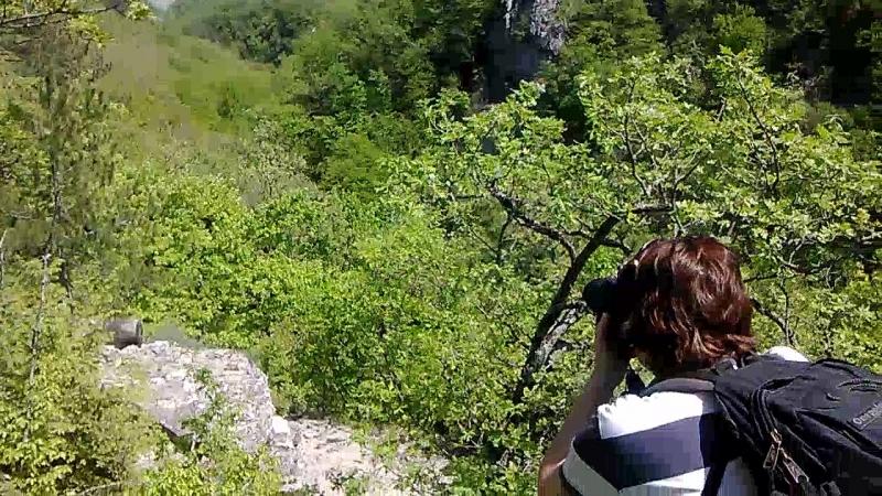Большой каньон Крыма в районе села Соколиное Участок маршрута CTF Lite Крым 26 04 2018