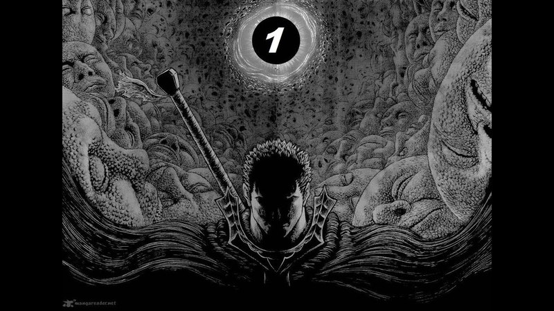 Berserk. Episode1. Black Swordsman (action manga fanfic version 2018) Russian Language