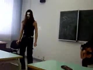 детство,детство ты куда бежишь-пародия на блек метал