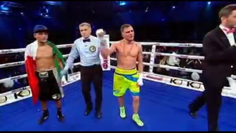 Денис Беринчик vs. Аллан Валлеспин - в субботу в 2230 Большой бокс на Интере