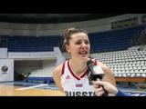Лучшее интервью после матча - Ксения Тихоненко