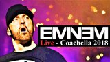 Eminem при участии Kuniva (D12), Dr. Dre, 50 Cent &amp 2Pac выступил на Coachella 2018. (15 апреля 2018 г.) (видео)