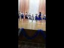 выступление Камили, отчетный концерт танец Валенки