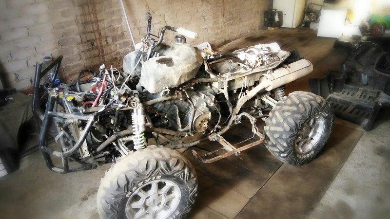 Stels 700D - проект DROVA – часть 31 – Ставим двигатель!