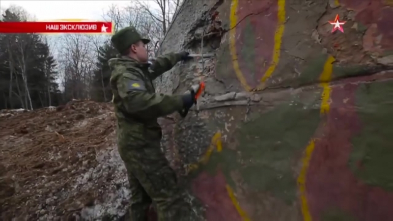 РПГ-28 «Клюква» прошивает насквозь бетонную стену_ эксклюзивные кадры