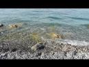 Утреннее Черное море. Гагра. Абхазия.