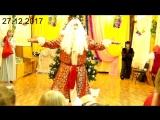 Дед Мороз зажигает на Елке у Ани!!!