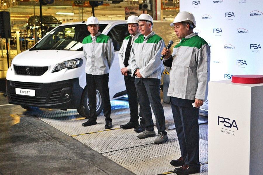 Калужский завод PSA запустил производство коммерческих фургонов