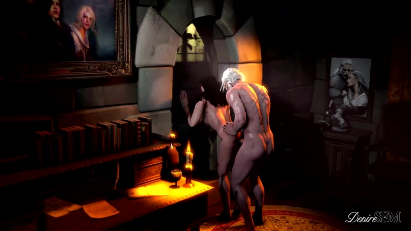 The Throes of Lust A witcher tale Yennefer Geralt 3 D мультфильм Cartoon porn порно