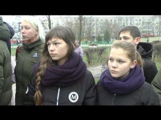 Митинг посвященный 75-летию начала контрнаступления советских войск под Сталинградом.