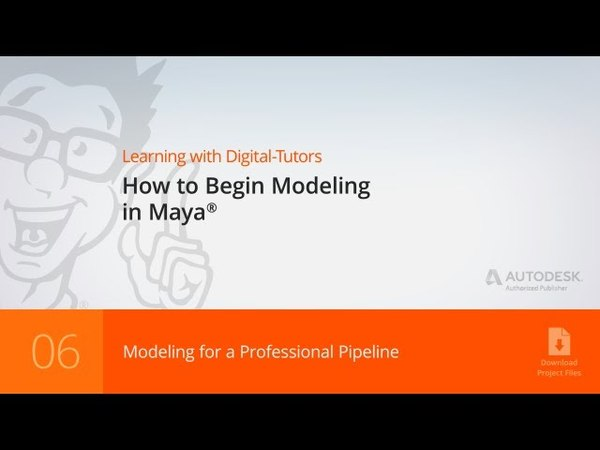 Maya Tutorial Modeling for a Professional Pipeline