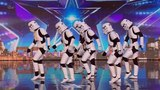 Britain's Got Talent 2016 S10E05 Boogie Storm Star Wars Inspired Cosplay Dance Crew Full Audition