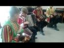 ансамбль Озорные переборы встреча делегации из Германии Январь 2017 Тиррольская полька