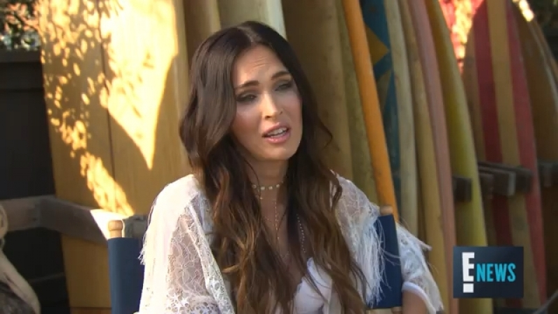 Megan Fox Talks Balancing Motherhood Career E Live from the Red Carpet