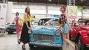 Chevrolet Брежнева и гоночный Jaguar в Харькове прошла выставка раритетных автомобилей