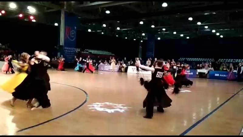 Чемпионат России 2018. Танго