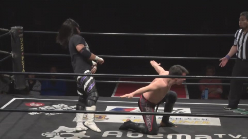 Daisuke Sasaki vs. Mike Bailey (DDT - D-Ou Grand Prix 2018 In Shin-Kiba - Day 7)