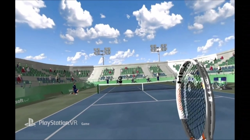 Dream Match Tennis VR - Announce Trailer PS VR