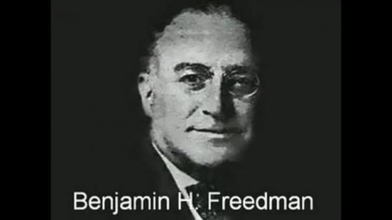 Benjamin H Freedman