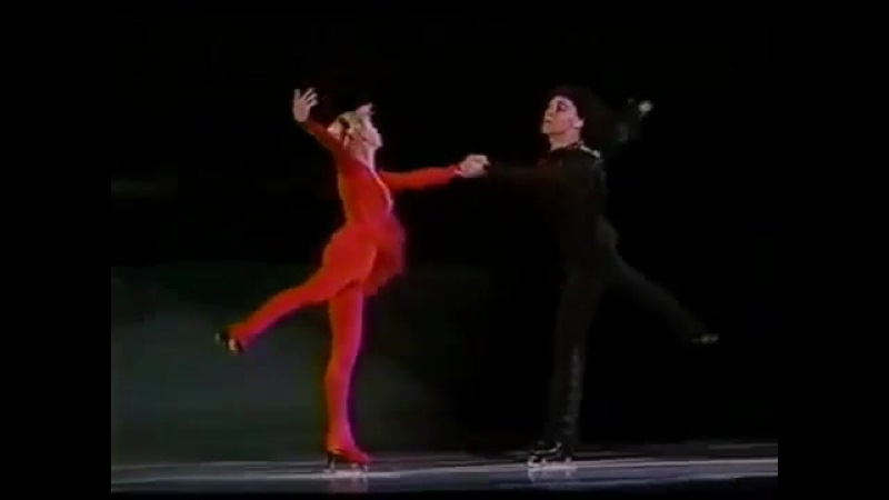 Н. Паганини. Скрипка Паганини. Л. Белоусова - О. Протопопов - 1985