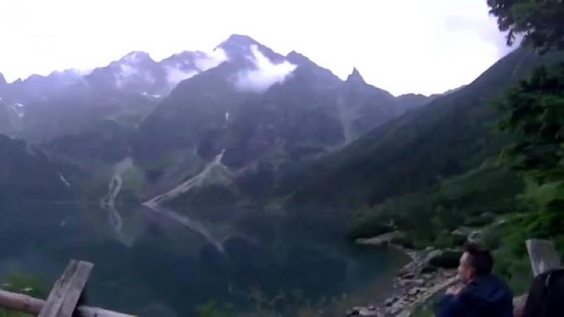 Горное озеро Morskie Oko-Горы Татры-Куда поехать-Закопане _ Польша-yuclip-scscscrp