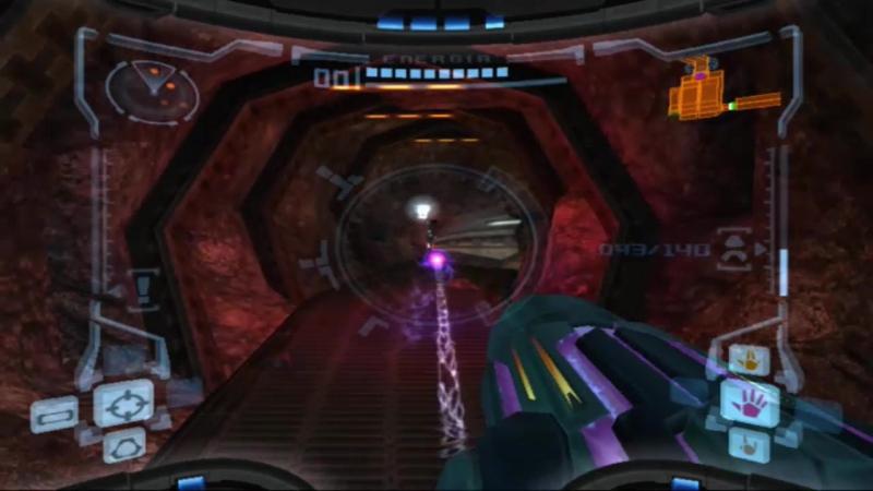 Metroid Prime 039 - Explorando la fortaleza pirata