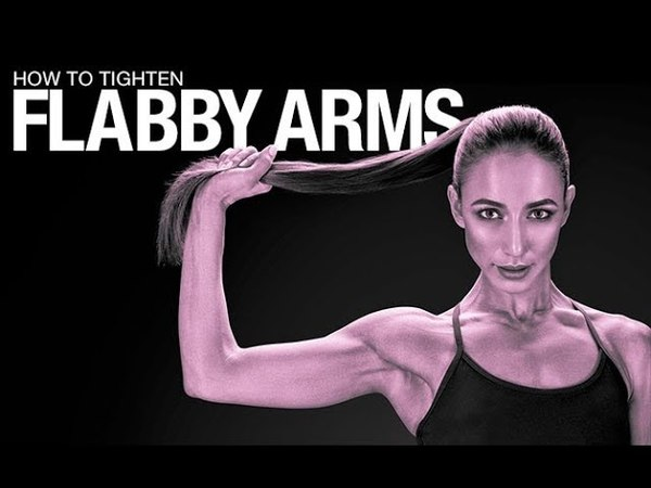 How To Tighten Flabby Arms (BEST TRICEPS EXERCISES!!)