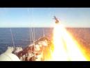 Крейсер «Варяг» и АПЛ «Томск» поразили мишень крылатыми ракетами