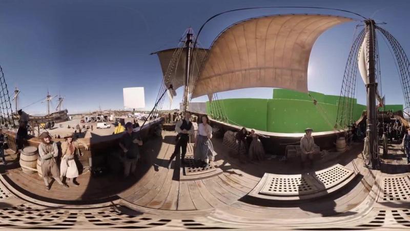 За кадром в формате 360° вырезанная сцена из 11 серии 3 сезона rus sub