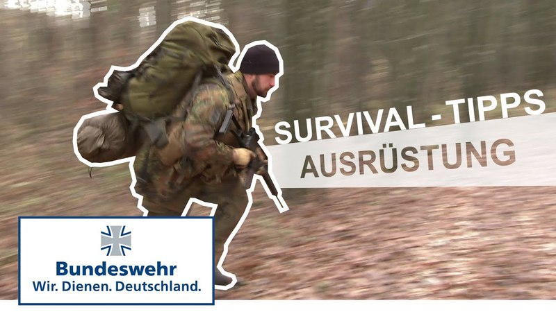 Survival-Tipps 1: Ausrüstung - Bundeswehr