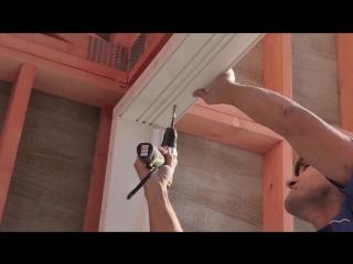 Монтаж Подъёмно-Раздвижной двери VEKASLIDE (1)