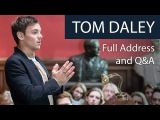 Tom Daley  Full Address and Q&ampA  Oxford Union
