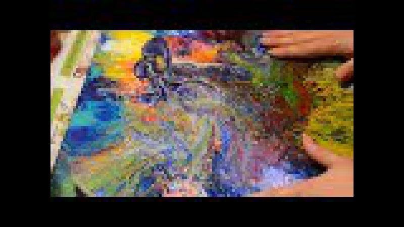 Обзорное видео по заливке акрилом. Составы примеры .