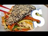 Wasabi Tuna &amp Noodle Salad Recipe - SORTED