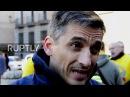 Spain Protesting firefighters threaten to strike if demands not met