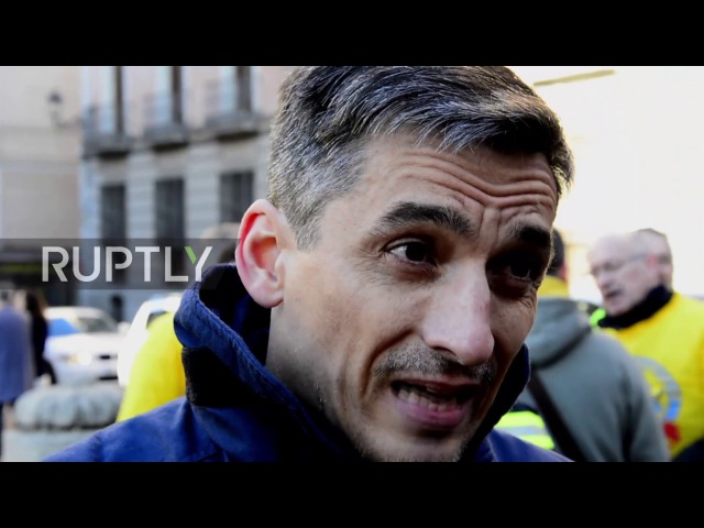 Spain: Protesting firefighters threaten to strike if demands not met